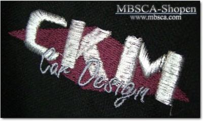 CKM Tennisshirt in high quallity broiled logo.
