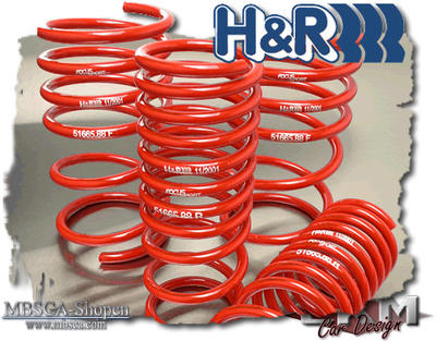 Loweringkit H&R 4pcs