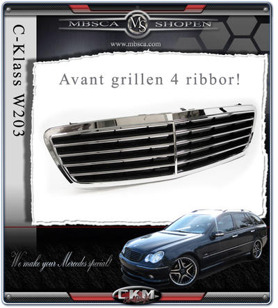 Avantgrill with frame